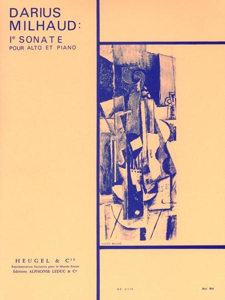 Sonate No.1 - Alto et Piano
