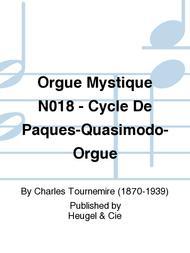 Orgue Mystique No.18 - Cycle De Paques-Quasimodo-Orgue