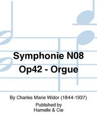 Symphonie No.8 Op42 - Orgue