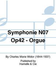Symphonie No.7 Op42 - Orgue