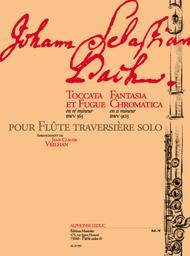 Toccata et Fugue Fantasia Chromatica - Flute Solo