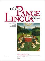 Pange Lingua - Orgue