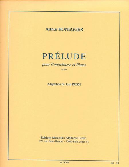 Prelude - Contrebasse et Piano