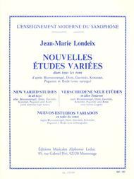Nouvelles Etudes Variees Dans Tous Les Tons - Tous Saxophones