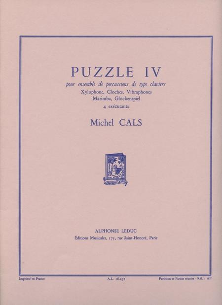 Puzzle 4 - Ensemble Percussions