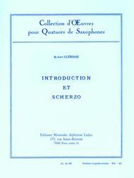 Introduction et Scherzo - Quatuor Saxophones