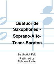 Quatuor de Saxophones - Soprano-Alto-Tenor-Baryton