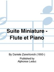 Suite Miniature - Flute et Piano