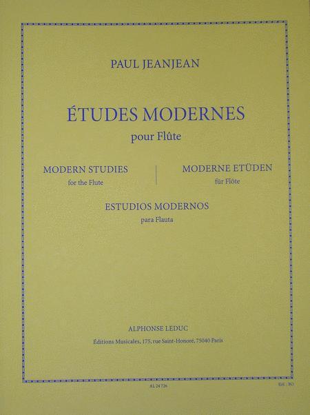 Etudes Modernes - Flute