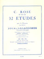 32 Etudes D'Apres Ferling - Clarinette