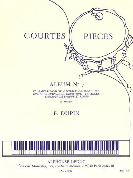 Courtes Pieces Volume 7: Ensemble Percussions (Classiques) et Piano