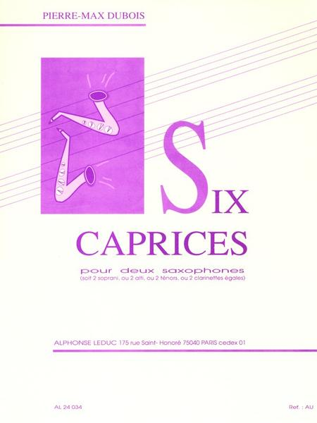 6 Caprices - 2 Saxophones