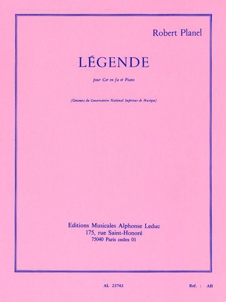 Legende - Cor en Fa et Piano