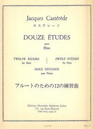 12 Etudes - Flute