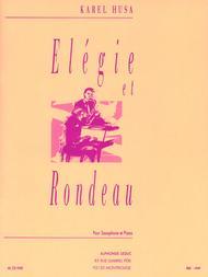 Elegie et Rondeau (Saxo Orch.) - Saxophone et Piano