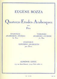 14 Etudes Arabesques - Flute