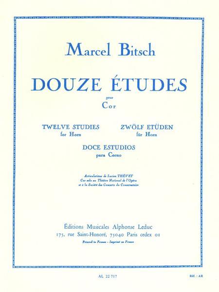 12 Etudes - Cor