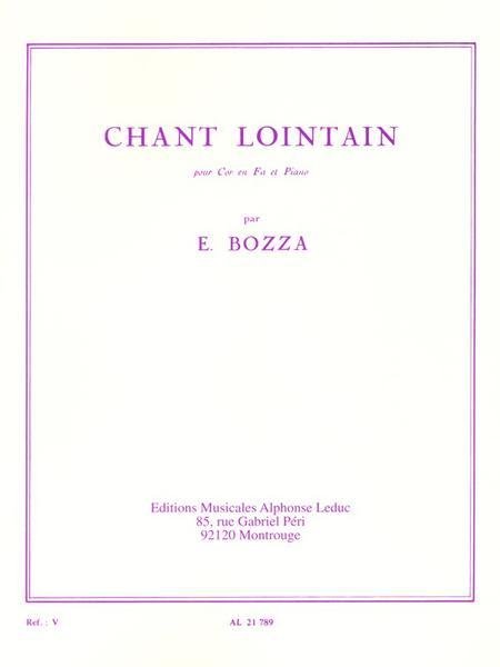 Chant Lointain - Cor et Piano