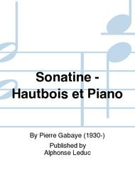 Sonatine - Hautbois et Piano
