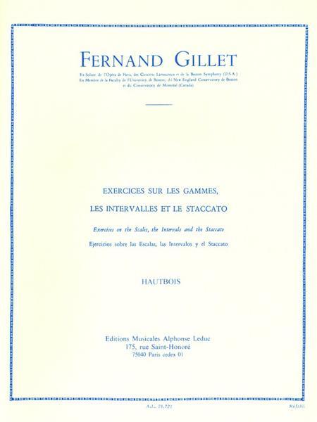 Exercices Sur Les Gammes Intervalles et Staccato Hautbois