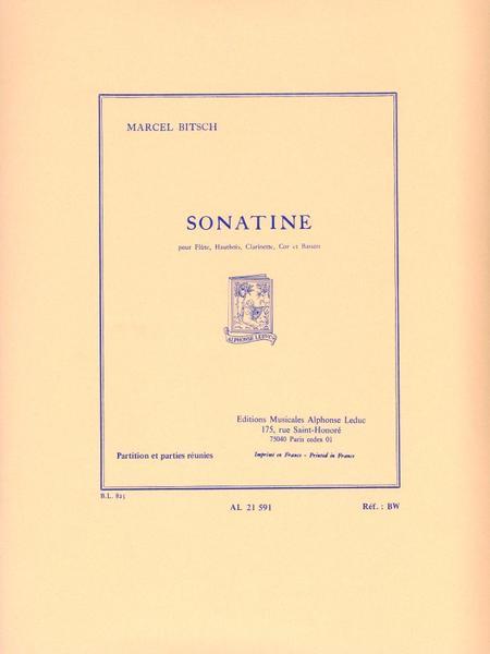 Sonatine - Flute Hautbois Clar. Cor Basson