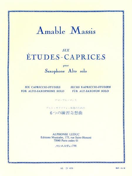 6 Etudes-Caprices - Saxophone Mib