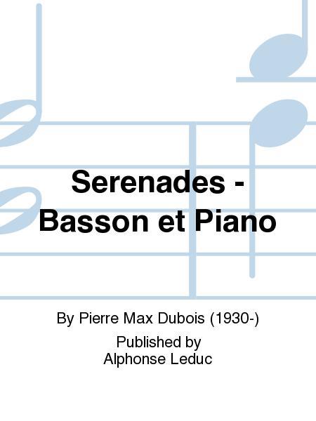 Serenades - Basson et Piano