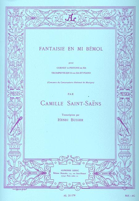 Fantaisie en Mib - Trompette ou Cornet Sib ou Trompette Ut et Piano