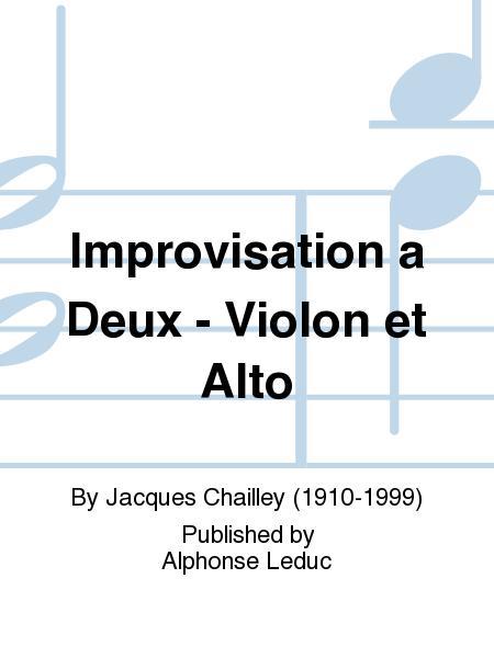 Improvisation a Deux - Violon et Alto