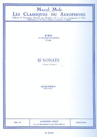 Classique Saxophone Mib No.90: Sonate No.6 (Violon)