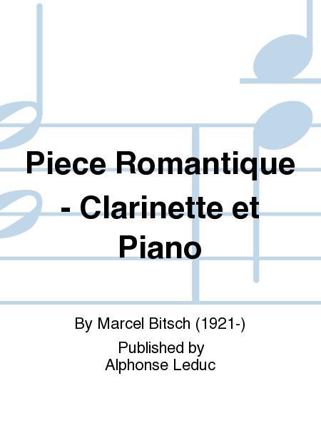 Piece Romantique - Clarinette et Piano
