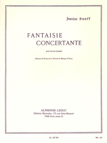 Fantaisie Concertante - Cornet Et Piano