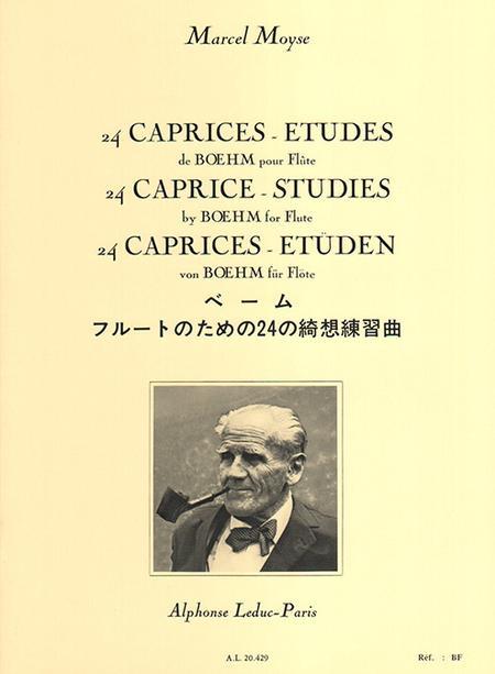 24 Caprices-Etudes de Boehm Flute