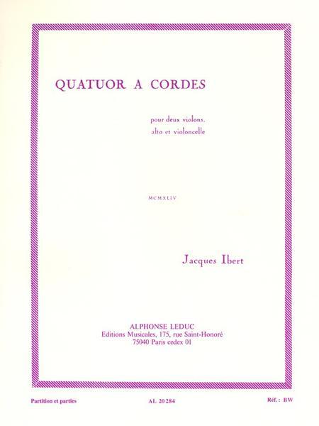 Quatuor a Cordes