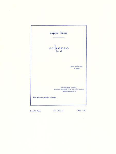 Scherzo Op48 - Quintette a Vent
