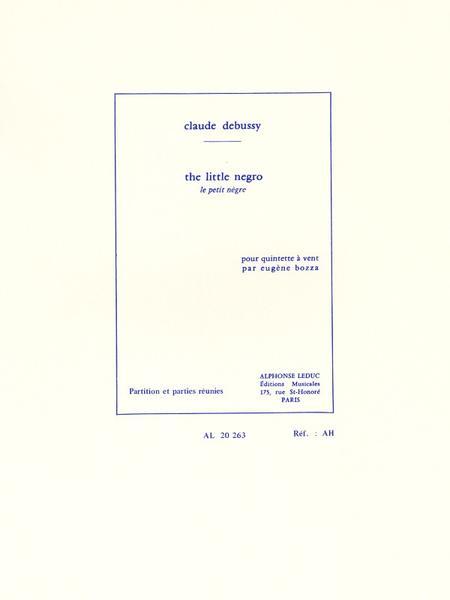 Petit Negre - Quintette a Vent