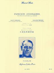 Exercices Journaliers D'Apres Terschack Tous Saxophones