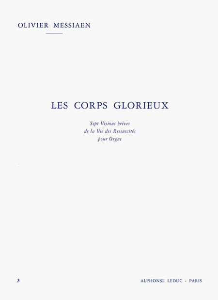 Corps Glorieux Volume 3 - Orgue