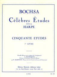 50 Etudes Op34 Volume 1 - Harpe
