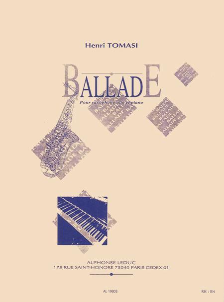 Ballade - Saxophone Mib et Piano