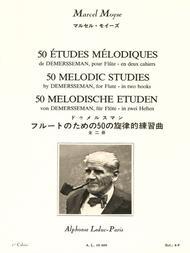 50 Etudes Melodiques Op4 D'Apres Demersseman Volume 1 (No.1 A 25) Flute