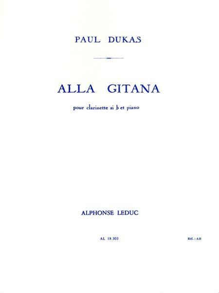 Alla Gitana - Clarinette et Piano