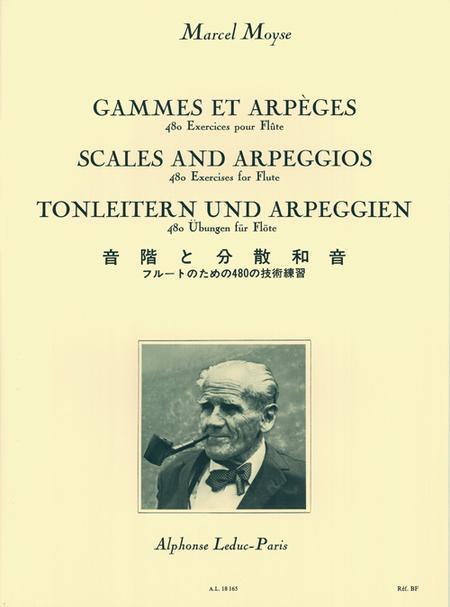 Gammes et Arpeges - 480 Exercices Flute