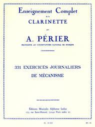 331 Exercices Journaliers de Mecanisme Clarinette