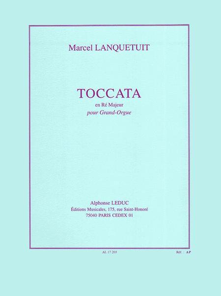 Toccata en Re Majeur - Grand Orgue