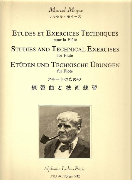 Etudes et Exercices Techniques - Flute
