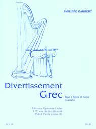 Divertissement Grec - 2 Flutes et Harpe (Ou Piano)