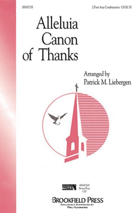Alleluia Canon of Thanks