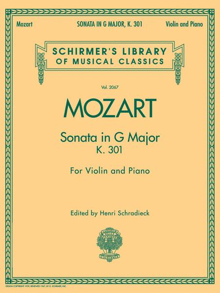 Sonata in G Major, K301
