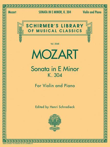 Sonata in E Minor, K304